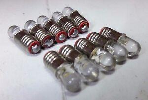 Daimler Double Six 6 Sovereign Instrument Dash Panel Light Bulbs Warm LED E5 x10