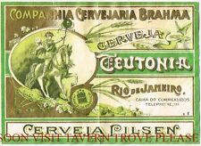 Brazil Cerveja Teutonia (wide) Rio De Janiero Stephens Collection Tavern Trove
