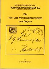 Preo Precancel Broschüre: Die Vor- und Vorausentwertungen von Bayern