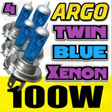 4 X H4 472 XENON ICE BLUE 100W MAIN BEAM HEADLIGHT HEADLAMP BULBS KIT 12V HID UK