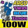 H4 Xenon 100w Azul Estilo Mejora Bombillas Para Faros Frontales Luces 472 p43t