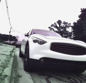 Front Grille NoLogo for Infiniti fx35 fx50 s51 2008-2011