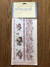 Pfaltzgraff Delicious Apple Collection Transfer 4 Sheets Rare Wall Art