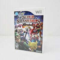 Super Smash Bros. Brawl (Nintendo Wii, 2008) Wii CIB Complete Tested