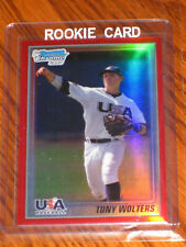 Tony Wolters 2010 Bowman Chrome RED Refractors #USA-TW  RC - /5 - WOW