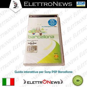 PSP Umd  Passport Barcellona Guida interattiva Sony Psp Nuovo