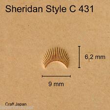 Punziereisen Sheridan Style C 431 - Camouflage - Craft Japan