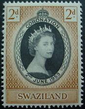 SWAZILAND 1953: CORONATION OF QUEEN ELIZABETH II;  MNH STAMP