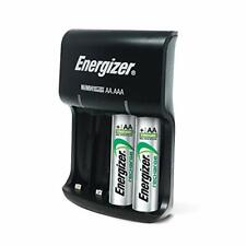 Energizer Batteries Charger AA AAA Double Triple A +  2 AA Rechargeable Batterie