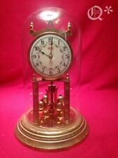 1940s WELBY 400 Day Anniversary Clock Glass Dome Germany Works