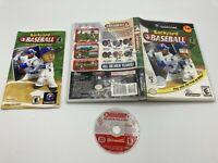 Nintendo GameCube NGC Tested Complete CIB Backyard Baseball Ships Fast