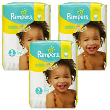 3x 20 = 60 PIÈCES Pampers Premium Protection Couche-culotte Taille 5 Junior