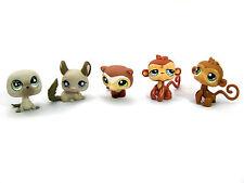 Littlest Pet Shop #1026 #687 #637 #57 #485 Monkeys Seal Ferret Chinchilla LPS
