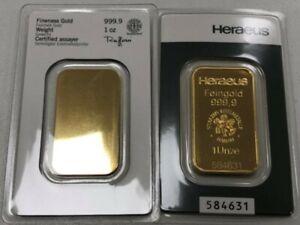 1 Unze Heraeus 999,9