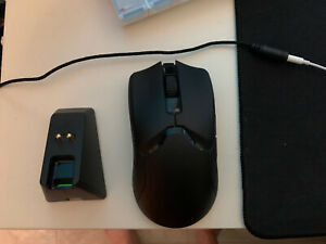 Razer Viper Ultimate Wireless Gaming Mouse with Charging Dock - Black