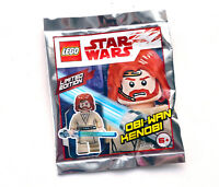 Lego Star Wars Obi-Wan Kenobi Minifigure Limited Edition NEW Sealed foil pack