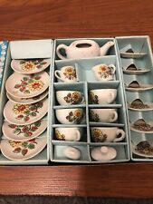 Vintage 23 Piece Childs Made In China Tea Set