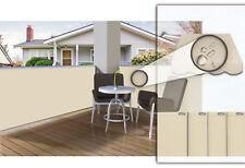 Balkon-sichtschutz Balkonbespannung Windschutz  mit Farbe/Länge auswahl NEU