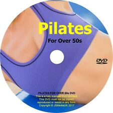 Over 50s Gentle Pilates Exercises - Now comes with FREE YOGA FOR OVER 50s 2 DVDs