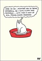 Wonderful Cat Cartoon Cat Humour Greeting Card On The Prowl Cards