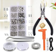 Jewelry Making Kit Repair Tool and Supplies Pliers Findings Beading Accessories