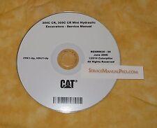 RENR9630 Caterpillar 304C 305C CR Mini Excavator OEM Service Repair Shop Manual