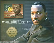 SOLOMON ISLANDS 2014 50th ANN MARTIN LUTHER KING, JR.'S NOBEL PRIZE S/S IMPF  NH