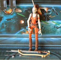 STAR WARS FIGURE 2008 ANIMATED CLONE WARS AURRA SING BOUNTY HUNTER