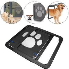37x42cm Large Medium Dog Cat Pet Door Screen Window ABS Magnetic Auto Close Door