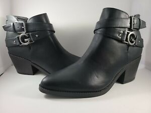 Guess, Black Booties, New, size 8.5 No box, really cute!!!!