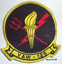 US.Navy `EARLY WARNING` VAW Squadron Cloth Badge / Patch (S9)