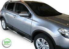 Nissan Qashqai 2007-2013 Side bars CHROME stainless steel side steps PAIR
