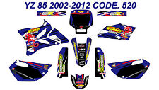 520 YAMAHA YZ 85 2002-2012 Autocollants Déco Graphics Stickers Decals Kits