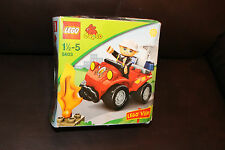 LEGO DUPLO 5603 FIRE CHIEF IN ALL TERRAIN QUAD BIKE  BRAND NEW FREE UK POSTAGE
