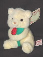 New With Tags Russ Rosebud Plush lovey Stuffed Bear