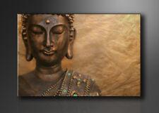 Bilder Leinwandbild Wandbild Buddha 80 x 60 cm aufhängfertig 4041