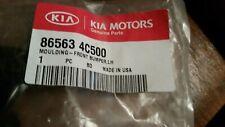 KIA OEM trim moulding front bumper LH left 865634C500 New in package