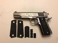 HANDLEITGRIPS Textured Rubber Gun Grip Enhancement Wrap For Ruger 1911 45 ACP