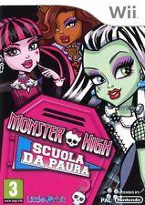 Monster High - Scuola da paura! WII - totalmente in italiano