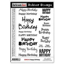 Darkroom Door Stamp Set - Happy Birthday