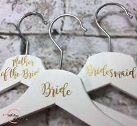 Personalised Vinyl Wedding Coat Hanger Decal Stickers