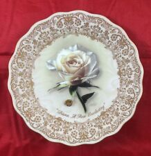 """Princess Diana """" A Rose Everlasting"""" Collectors plate with Elton John Music Box"""