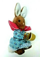 Eden Beatrix Potter Mrs Rabbit Plush Stuffed Animal Vintage 15''