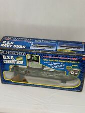 NIB USS Connecticut Submarine  radio Control Submersible. 27 MHz