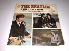 Beatles 45 rpm A Hard Days Night/I Should Have Known Better Capitol Records