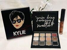 Kylie Cosmetics MOMAGER Kit~Eyeshadow Palette & Liquid Lipstick~2-Piece Set~NIB