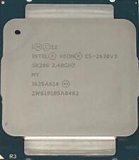 Intel Xeon Processor E5-2630 v3 20M Cache, 2.40 GHz, 8 Cores, SR206
