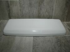 Crane CR/PL-H 3222 White Used Toilet Tank Lid Clean With Minor Flaws 3-222