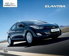 Hyundai Elantra 2011 catalogue brochure polonais
