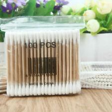 Handle Bamboo Swabs Disposable Q-tip Applicator Cotton Swab Sturdy 200Pcs